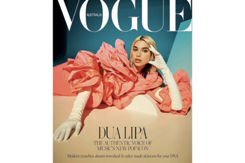 Vogue Cover Dua Lipa April 2020