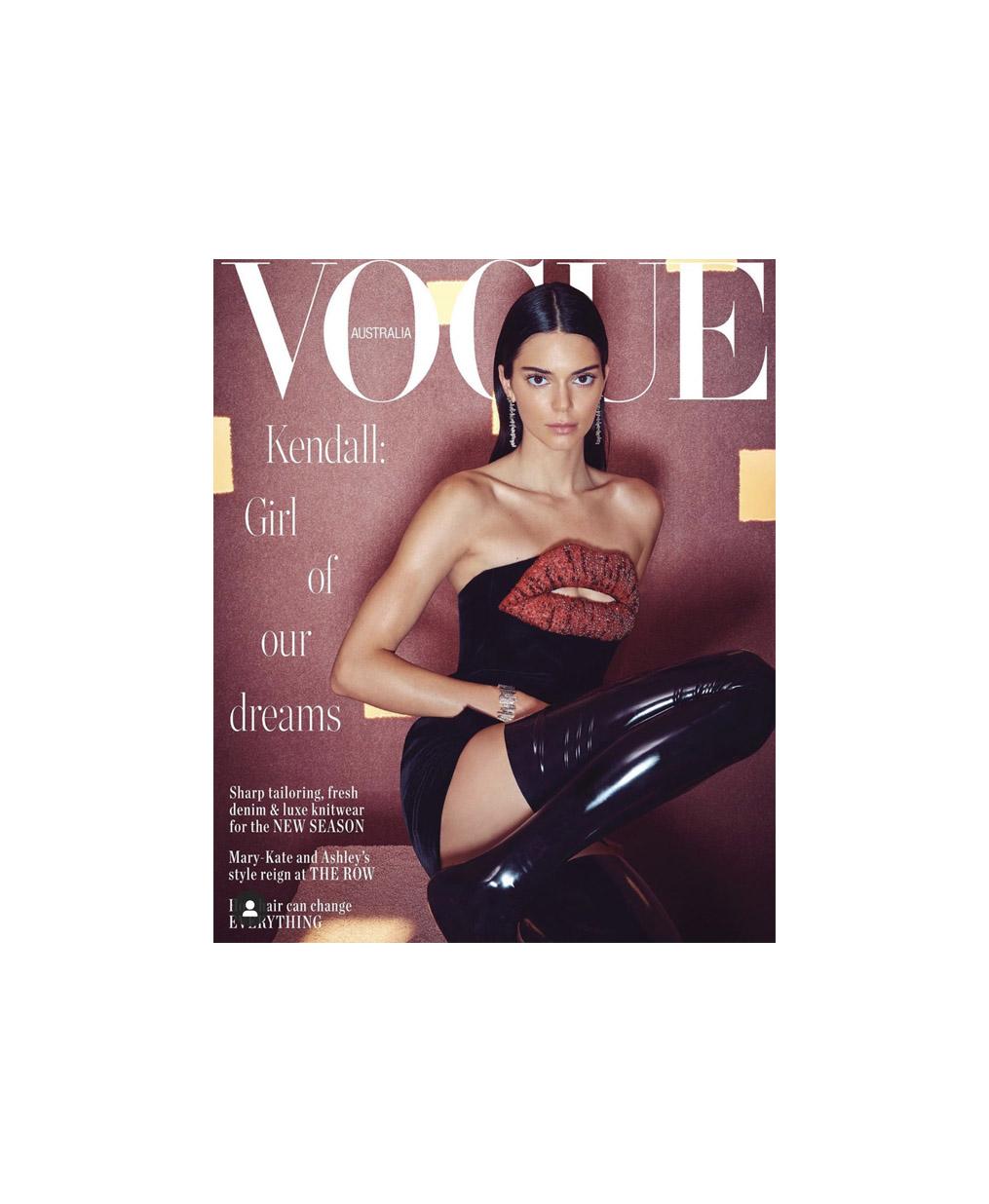 Kendall Jenner for Vogue Australia April Cover 2019