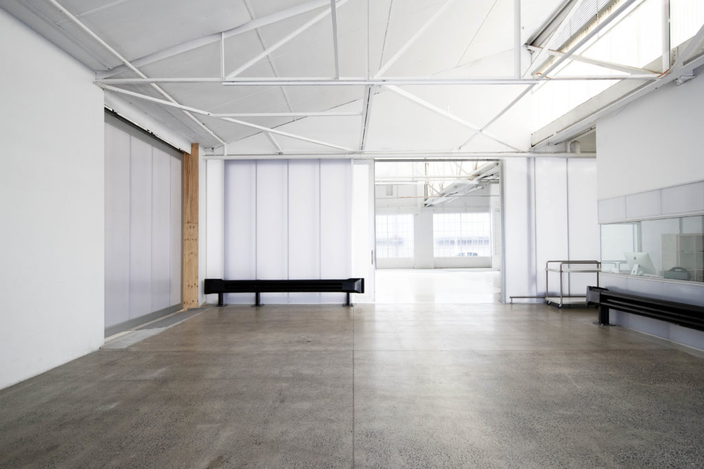 Daylight Studio for Hire in Sydney. Image of loading dock leading into Studio 6C