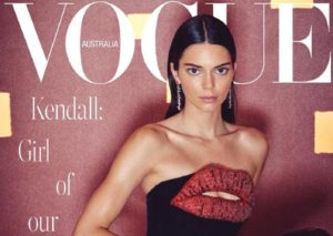 Vogue Cover with Kendall Jenner