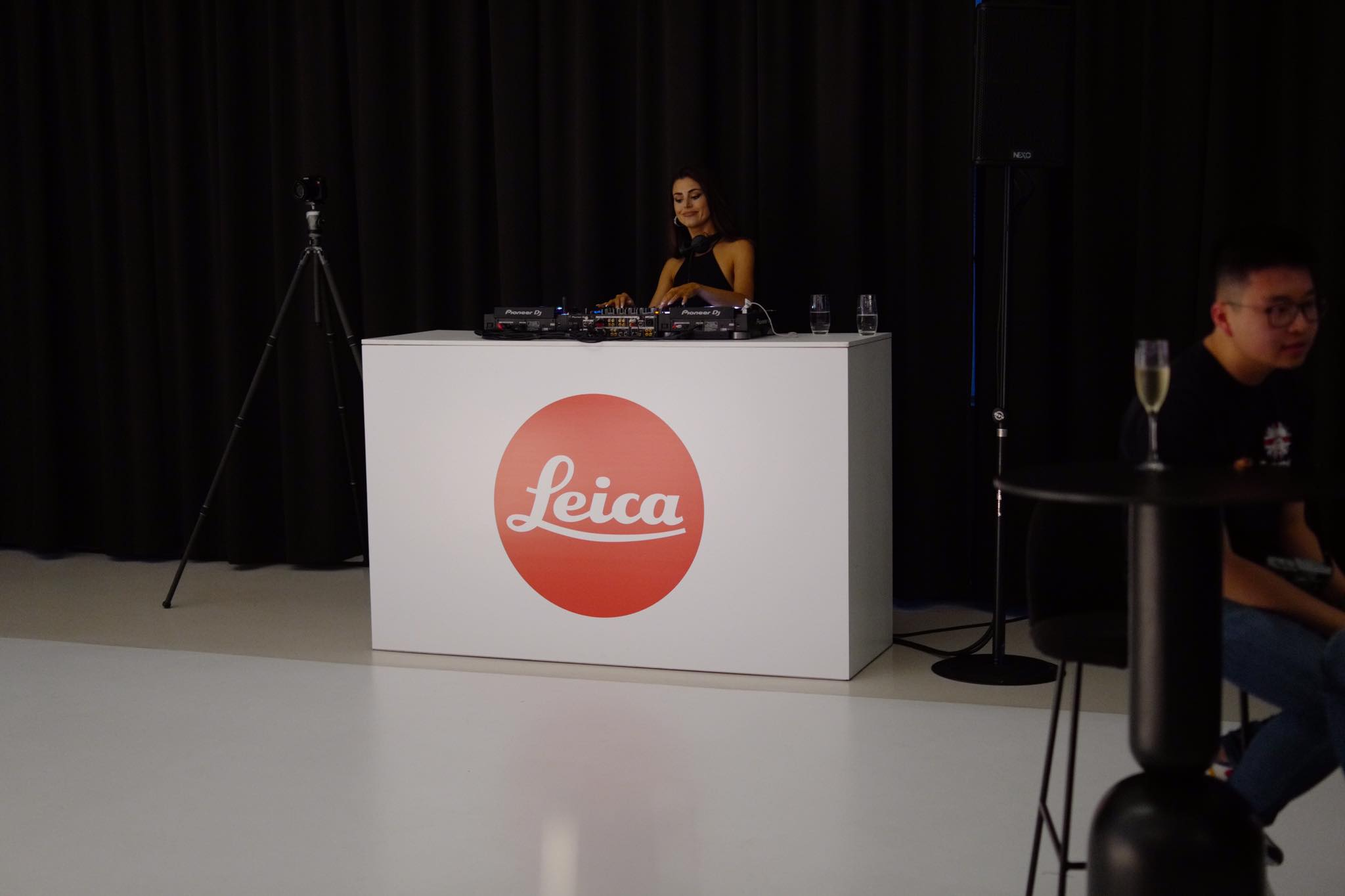 Picture of DJ at the Leica Event in Alexandria Sydney